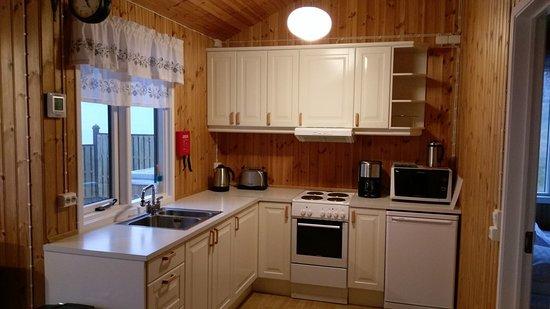Langahlid Cottages: Cocina
