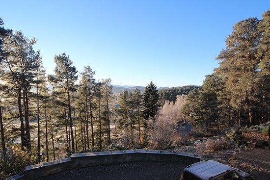 Newtonmore, UK: View from room 1 looking to the right.