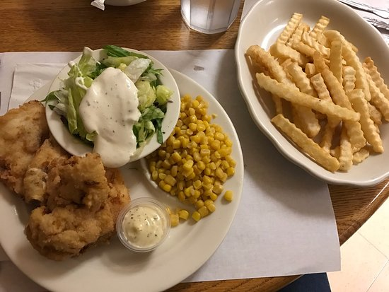 Sullivan, MO: Fried fish special