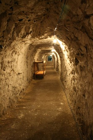 Ramsgate, UK: 3.25 miles of tunnels, 7 feet high, 6 feet wide