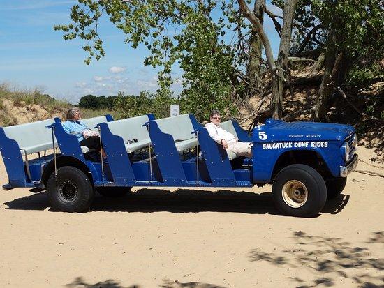 "Saugatuck, MI: The ""dune buggy"""