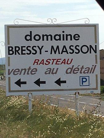 Sablet, France: Stop 1