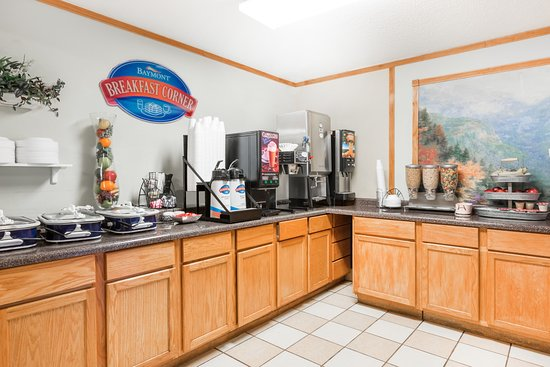 Baymont Inn & Suites Des Moines North: Breakfast Area