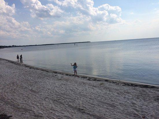 Ruskin, FL: view from beach
