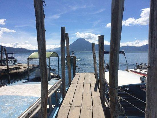 Lake Atitlan, Guatemala: L'utilisation des taxis boat est le meilleur moyen d'aller d'une ville à l'autre!