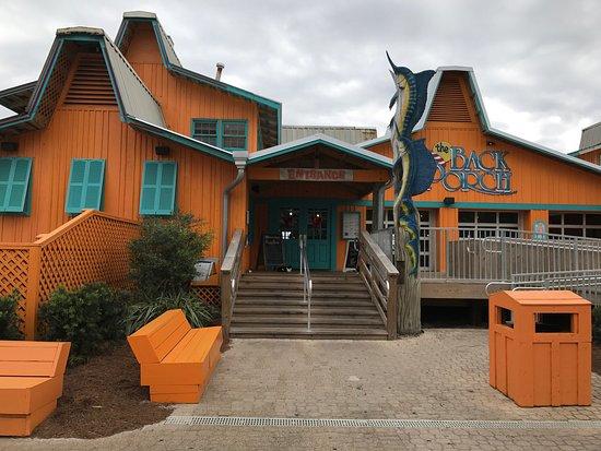 Back Porch Destin Restaurant Reviews