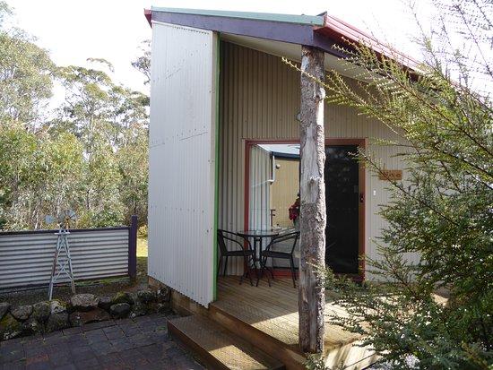 Derwent Bridge Chalets & Studios: our little bush retreat