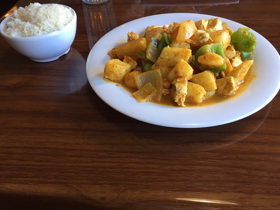 Andalusia, AL: Delicious Thai Yellow (Chicken) Curry