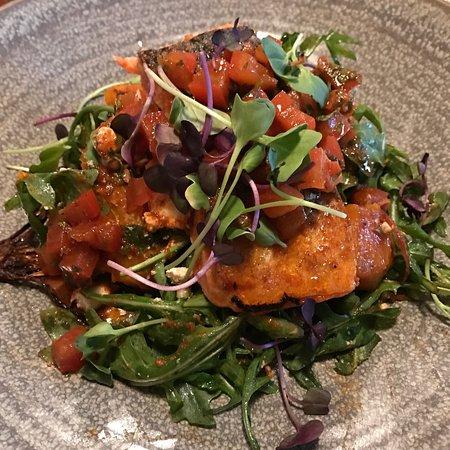 Twizel, Nowa Zelandia: Salmon, excellent!