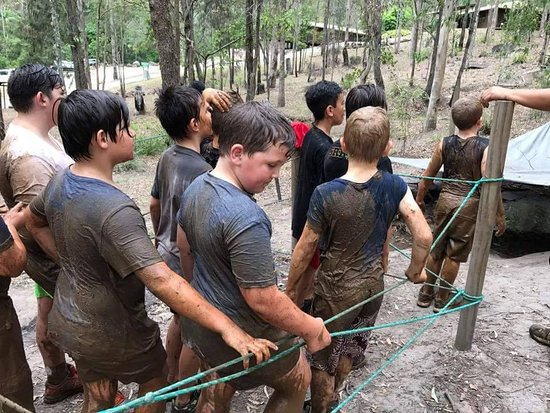 North Tamborine, Australia: Survivor Mud Course