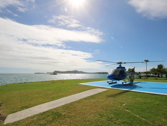Tahiti-Helicopters: This was the chopper we flew with.