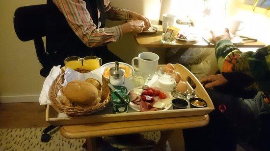 Egmont, Canada: breakfast