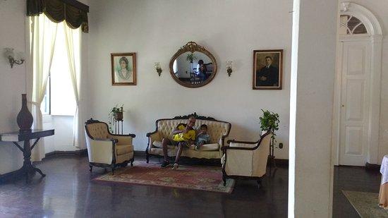 Hotel Fazenda Villa-Forte : Casarão- recepção