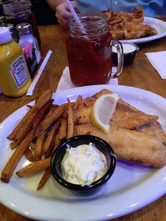 Lake City, فلوريدا: Fish and Chips
