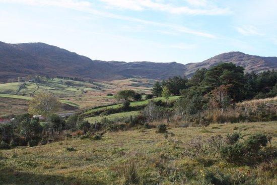 Kenmare, Irlandia: Las vistas desde lo alto de Molly Gallivan's son inmejorables