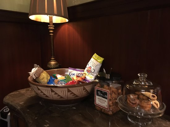 Addison, Pensilvanya: Ample snacks!