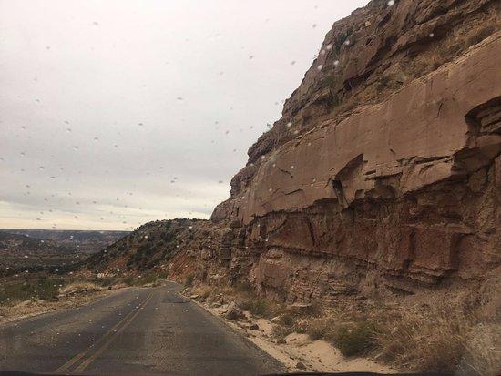 Canyon, TX: LIndo caminho