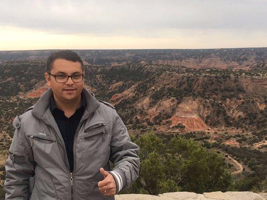 Canyon, TX: Vista maravilhosa