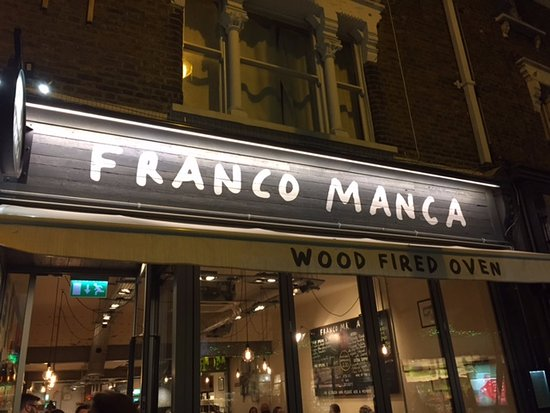 Franco Manca Broadway Market : You are here