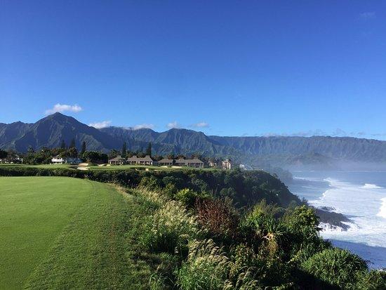 Princeville Makai Golf Club: The spectacular 7th hole.