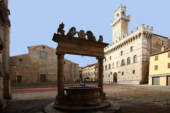 Montepulciano es una comuna italiana de la región de la Toscana, provincia de Siena. Pueblo medi