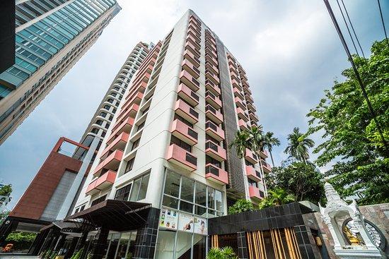 Bandara Suites Silom, Bangkok: Hotel Building