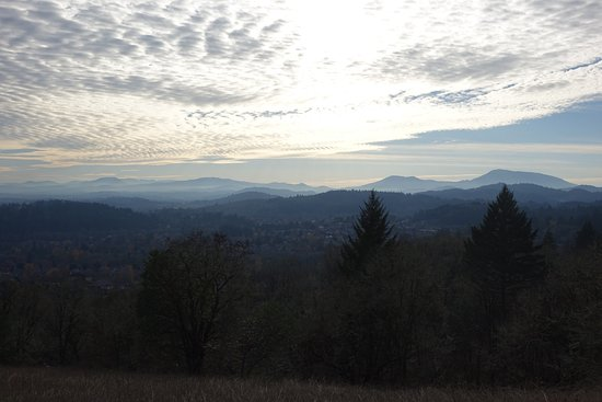 Corvallis, OR: Looking towards the Coast Range. Other direction you see the Cascades.