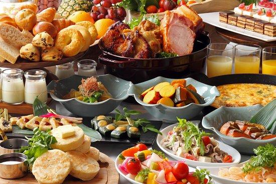 カザ 朝食ビュッフェイメージ Breakfast Buffet Image All Day Dining Kaza 1f Rihga Royal Hotel Kyoto Tripadvisor