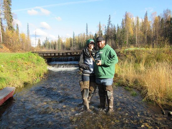 Talkeetna, AK: We had an absolutely fantastic time on our ATV tour with Dennis! Highly highly recommend! We lov