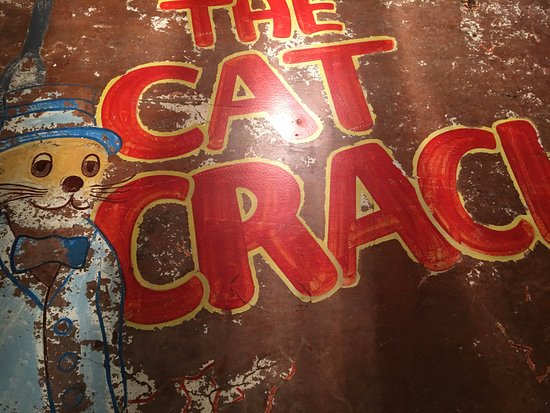 Amelia Island Museum of History: The Cat Crack sign