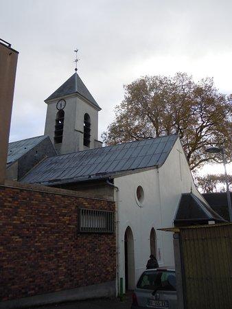 Sevran, Francia: L'église