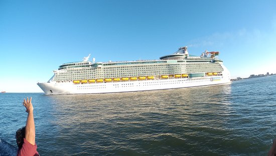 Bye Bye Liberty Of The Sea Picture Of Galveston Port Bolivar - Liberty of the seas galveston