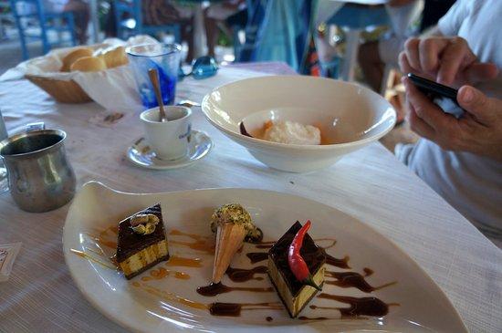 Ristorante da Silvio: десерты