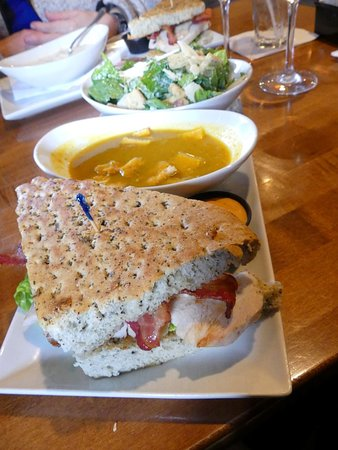 Tony Roma's: Soup, salad and sandwich $16 lunch special