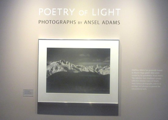 Poetry of Light, Ansel Adams, Mumm, Rutherford, Ca