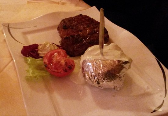 """Steakhouse: """"Rodeo"""" Ribeye one of the best steaks I ever had."""