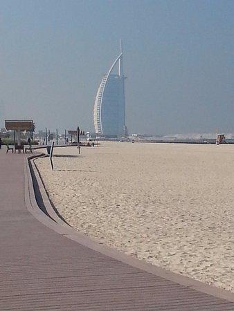 La Spiaggia Di Kite Beach E Sullo Sfondo Il Burj Al Arab Picture