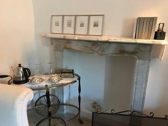 Govone, Italië: Sitting corner of our room