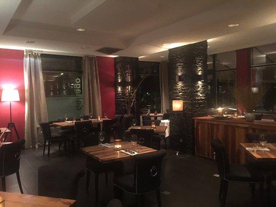 Melide, Switzerland: Sala ristorante