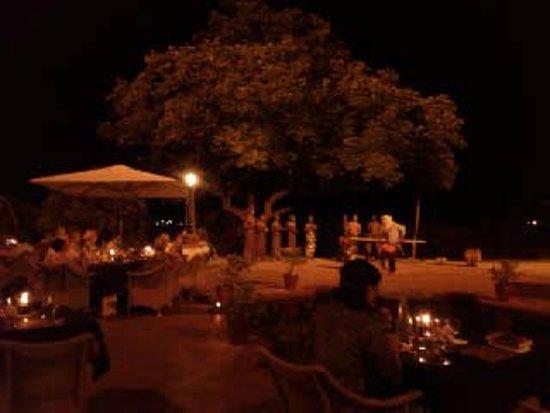The Victoria Falls Hotel: spettacolo