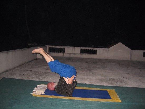 yoga terrace picture of yogalife homestay kerala