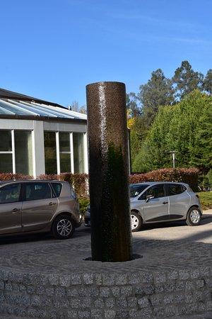 Lobios Caldaria Hotel: entrad y aparcamiento
