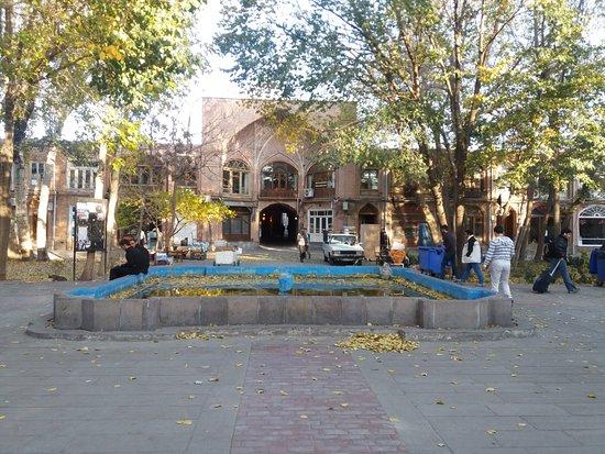 Small Fountain In Front Of Main Door Picture Of Bazaar Of Tabriz