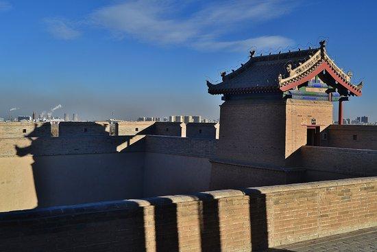 Jiayuguan, Chiny: Clear Air & Smog