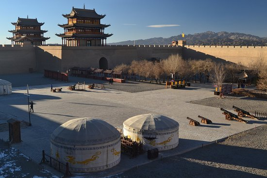 Jiayuguan, Chiny: Towers & Cannons & Yurts (oh my)
