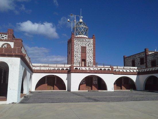 Las Playitas, Spain: Die Wasserabgewandte Seite