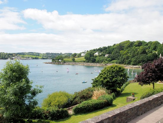 Glandore, Ireland: Great view on a sunny day