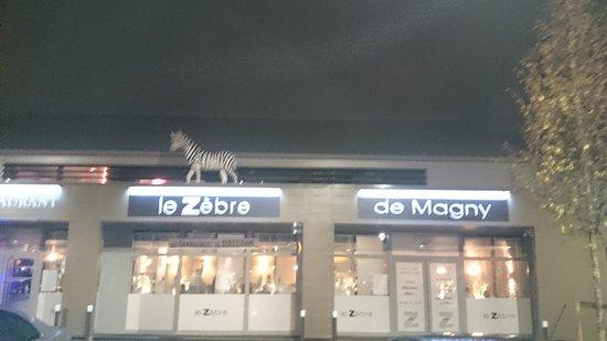 Le Zebre Magny Le Hongre devanture du restaurant - photo de le zèbre, magny-le-hongre