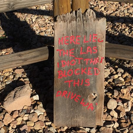 Williams, AZ: Souvenir på Double Eagle Trading Co, AZ