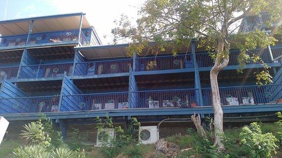 True Blue Bay Boutique Resort: My apartment